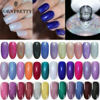 BORN PRETTY 6ml Holo Gel Polish Shimmer Glitter Soak Off Nail Art Gel Varnish