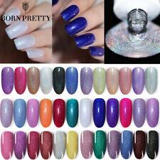 BORN PRETTY 6ml Holo Gel Polish Shimmer Glitter Soak Off Nail Art Gel Varnish