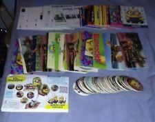 Minions Despicable Me Power Caps divertido juego Tazos de satisfacer Angry Birds tortugas Tiradores
