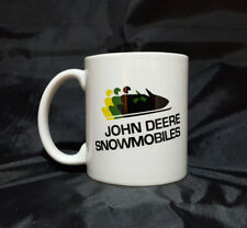Reproduction Vintage John Deere Snowmobile Logo Coffee Mug