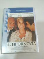 EL HIJO DE LA NOVIA DVD RICARDO DARIN Hector Alterio Campanella nueva