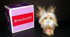 Retired American Girl Sugar Dog Pet Set Collar Yorkie Terrier Original Box EUC