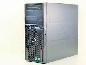 Fujitsu Celsius W510 Intel Xeon Quad Core 3.10 GHz 2GB RAM 500GB HDD DVD-ROM