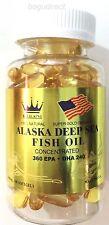 1 Btl x (100 pills) Royal King Alaska Deep Sea Fish Oil-concentrated epa-dha