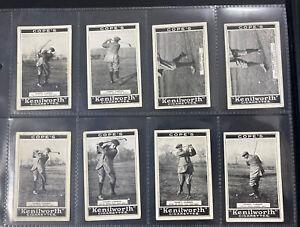 Copes 1923 Golf Strokes Full Set X32
