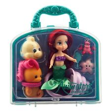 Disney Store Animators' Collection Ariel Little Mermaid Mini Doll Play Set - 5''