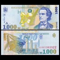 Romania 1000 1,000 Lei, 1998, P-106, UNC