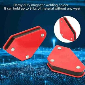 1pc Angle Soldering Locator Magnetic Magnet Corner Arrows Welder Welding HolBEN