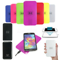 Universal Qi Standard Wireless Charging Charger USB Pad Mat For iPhone