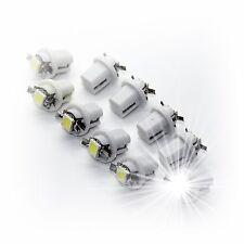 LED GLÜHLAMPE 12V  weiß white  klar SOCKEL BA9s DIN 49710