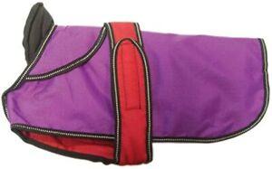 Danish Design 2-in-1 purple dog coat 60cm SALE