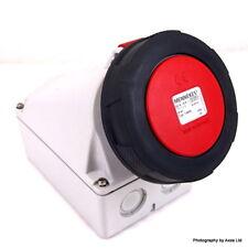Industrial Power Socket 136PA Mennekes 136-PA *New*