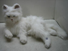 HASBRO FURREAL FRIENDS INTERACTIVE LULU CUDDLIN WHITE KITTY CAT PLUSH EXCELLENT