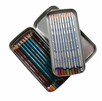 Derwent Double Removable Layer Hard Metal Pencil Storage Tin (Empty)