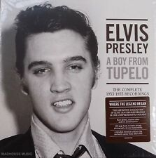 ELVIS PRESLEY CD x 3 A Boy From Tupelo 1953-55 Outakes Session Trks +120 Pg BOOK