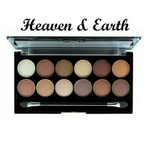 MUA 12 Shades Heaven&Earth  Eyeshadow Palette