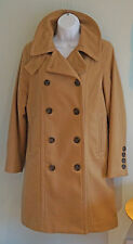 GAP Ladies Military Style Wool Trench Coat  Lined Size: Small