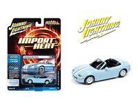 Johnny Lightning 1:64 1999 Light Blue Mazda MX5 Miata Diecast Model JLSP111A