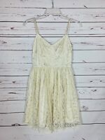 Pins & Needles Urban Outfitters Women's S Small Ivory Lace Spring Cute Tunic Top