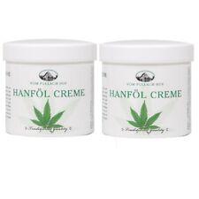 Hanf Hanföl Creme für die Pflege trockener und reifer Haut 250 ml 2er Pack