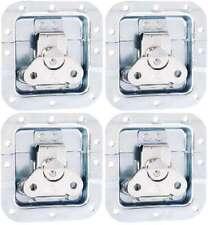 4 x Butterfly Schloss mittel 102 x 104 x 14 mm Einbauschale gekröpft Verschluss