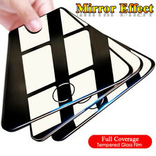 Luxury Mirror Film For iPhone XS Max XR 8 Plus SE Temper Glass Screen Film Cover