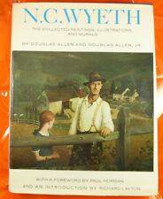 N.C. Wyeth The Collected Paintings Illustrations & Murals by D. Allen & Son HBDJ