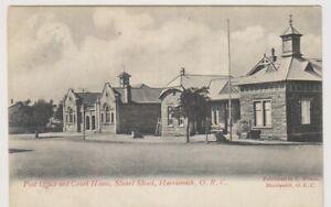 Südafrika Postkarte - P.O & Court Haus, Stuart St, Harrismith O. R.c. (A41)