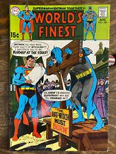 World's Finest #186 4.5 VG+ silver age Detective Comics DC Superman Batman