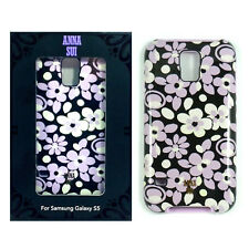 Anna Sui Hardshell Floral Design Protection Case For Samsung Galaxy S5