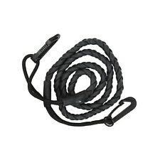 GEAR AID Gruntline Elastic Cord and Utility Line or Clothesline, Black, 7 ft