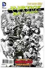 Justice League of America #2 (2013) DC NM/NM- 1:100 Sketch Variant