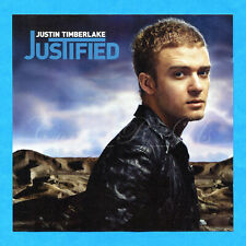 Justin Timberlake Janet Jackson ~Justified~Uk 14Tk Cd Album~Rare Bonus Worthy Of