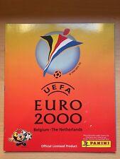 Euro 2000 EM EC 00 vide Panini Sticker Album-Rare
