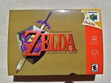 N64 Zelda Ocarina Of Time, Custom Art case only, no game included