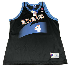Rare Vintage Cleveland Cavaliers Shawn Kemp Cavs Champion 1997 Jersey NWT