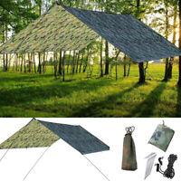 New Tent Tarp Rain Sun Shade Hammock Shelter Waterproof Camping Picnic Pad Mat