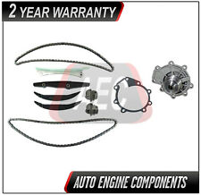 Timing Chain Kit & Water Pump Fits Ford Five Hundred Taurus Lincoln 2.5L 3.0L