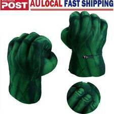 2pcs Cosplay Hulk Gloves Smash Hands Boxing Fist Punching Xmas Gift Toys AU