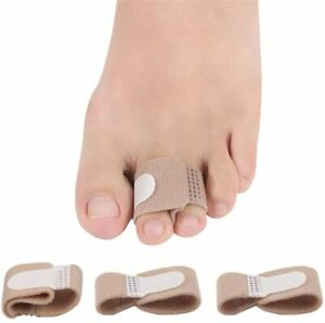 Toe Strap Fabric Separator Straightener Pain Relief Wrap 1PC Bunion Corrector UK