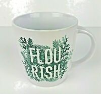 STARBUCKS Flourish Evergreen Ceramic Coffee cup-mug   12 fl oz.