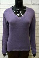Maglione Pullover Donna MARLBORO CLASSICS Taglia L Cardigan Lana Sweater Woman