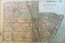 1926 ROCHESTER NEW YORK PLYMOUTH-EXCHANGE LUNSFORD PARK CORN HILL ATLAS MAP