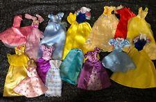 More details for bundle princess dresses clothes x14 suitable for disney & 10