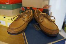 Sebago Schooner, Scarpe da Barca Uomo, Marrone (Tan Tumbled Leather), 41.5 EU