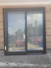 New: Premium Pella Wood Home Sliding Patio Door w/ Tempered Glass (72x80)