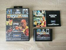 Super WrestleMania (complete / PAL) - Sega Mega Drive