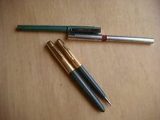 LOT anciens STYLOS dont plume PARKER 51 plaqué or et Reynolds -vintage  -VB2455