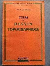 Cours de dessin topographique, R. Couet et B. Dubuisson, Eyrolles 1967