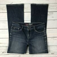 Tommy Hilfiger Hope Boot Jeans Size 10R Womens Bootcut Dark Wash Stretch Denim